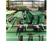 Production of a laminating line