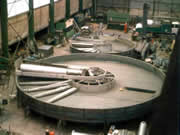 Production of fibre flotation units