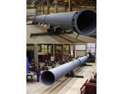 Production of industrial chimneys