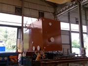 construcción depósito de gran volumen para aceite