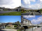 construcción de puentes de acero corten o aceros granallados