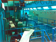 construcción sala de bombeo de aguas residuales