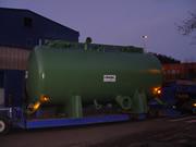 fabricación depósito de gran diámetro