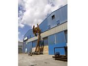 Construcción de una escultura de acero corten - Árbol del aire