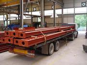 fabrication et montage de structures métalliques de parkings