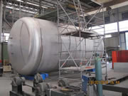 fabrication d'un réservoir de sels