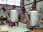 Fabrication d'un réservoir mélangeur