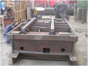 production of mechanically-welded benches