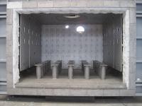 construcción horno recalentamiento materiales