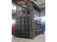 fabricación horno recalentamiento materiales
